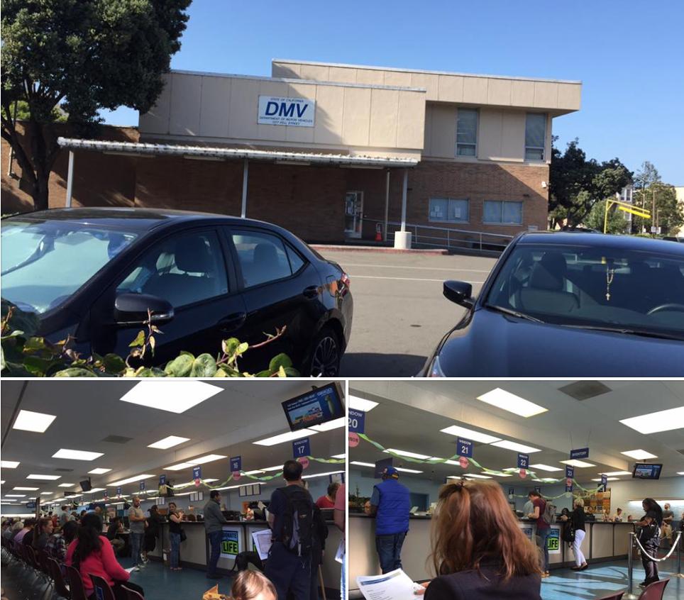 DMV in SF