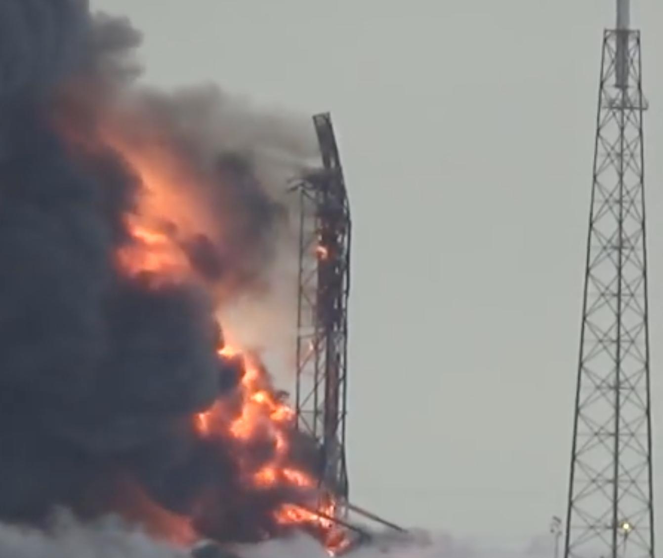 Falcon9 Explosion